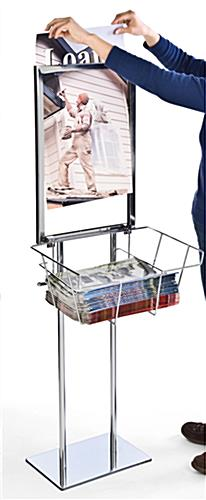 Top-loading Poster Stand