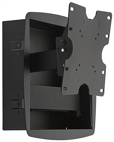 recessed tv wall mount articulating bracket. Black Bedroom Furniture Sets. Home Design Ideas