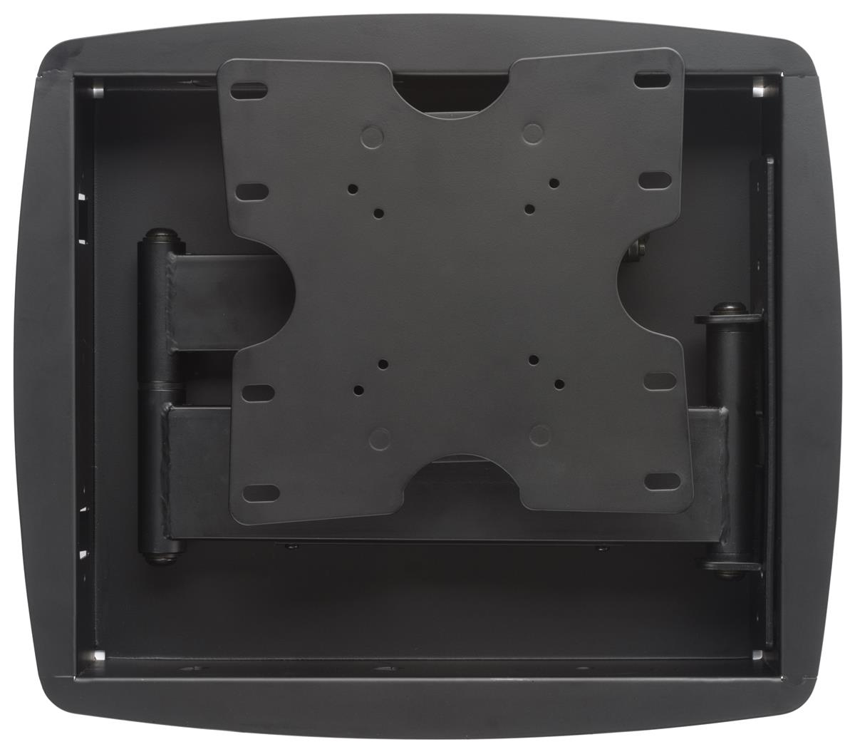 Recessed Tv Wall Mount Fits Monitors 26 To 40 Articulating Low Profile Black
