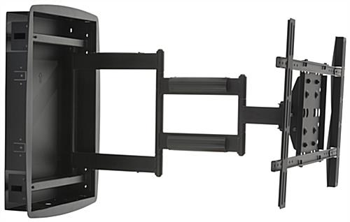 monitor wall mount walmart dell arm articulating bracket flush extending height adjustable dual