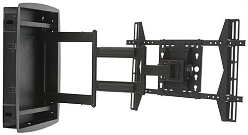 Flush TV Wall Mount with Panning Bracket