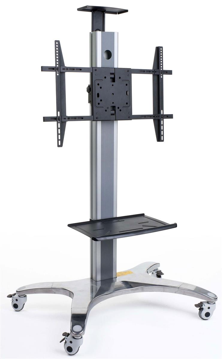 Universal Tv Stand Monitor Display With Wheels