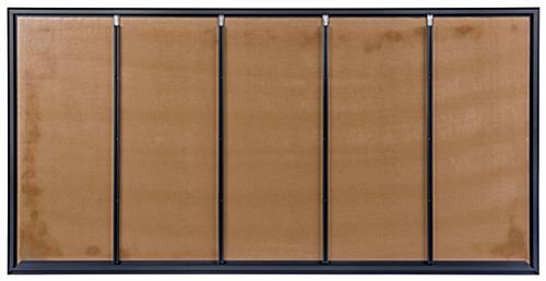 72 Quot X 36 Quot Large Cork Board W Black Aluminum Frame