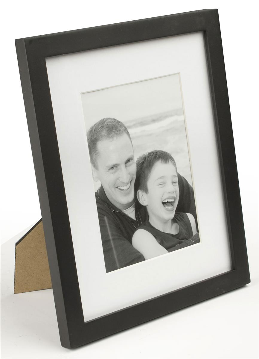 8 Quot X 10 Quot Picture Frames Black Photo Holders With Mat Board
