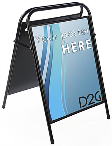 "22"" x 28"" Folding Sidewalk Sign is Folding"
