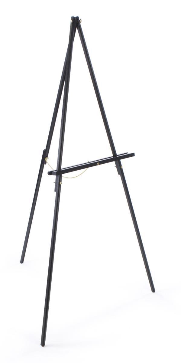 studio art easels with beech wood black finish  u0026 rubber