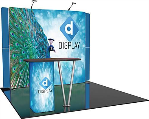 All-in-One Custom Trade Show Booth