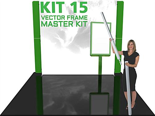 Illuminated Trade Show Display System