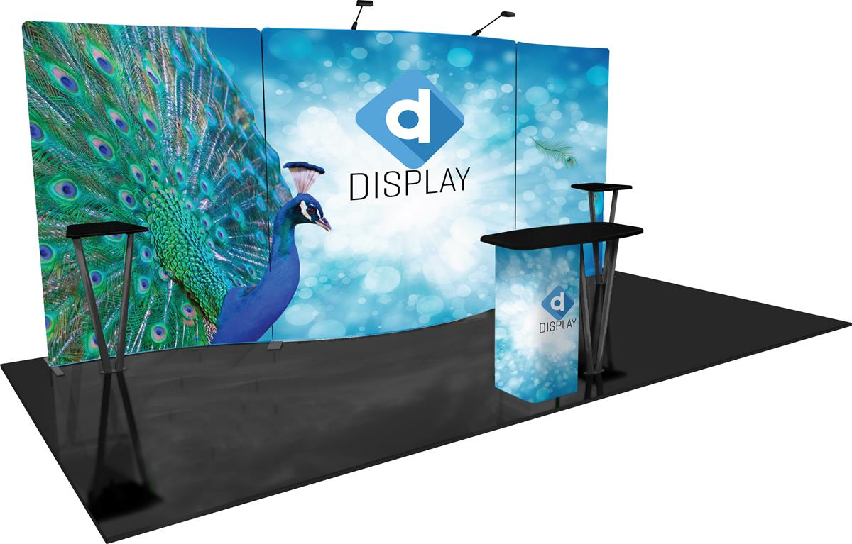 Trade Show Booth Graphics : Trade show graphics large format printers trade show display