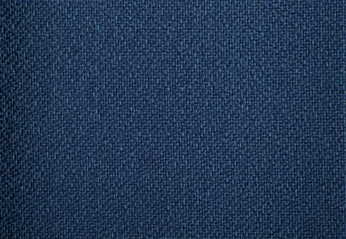 Blue Fabric Bulletin Board with Tempered Glass