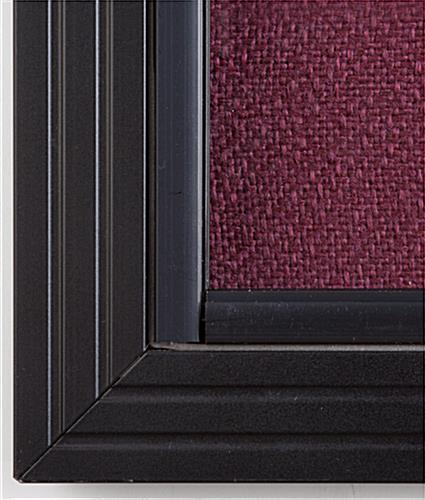 ... Sliding Door Fabric Board ... & 4\u0027 x 3\u0027 Sliding Door Fabric Board - Maroon Fabric Pezcame.Com
