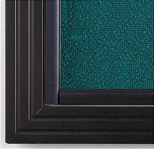 Sliding Door Fabric Tackboard