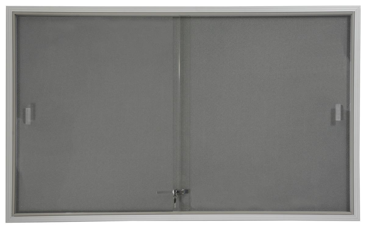 Framed Fabric Board 5 X 3 W Gray Interior