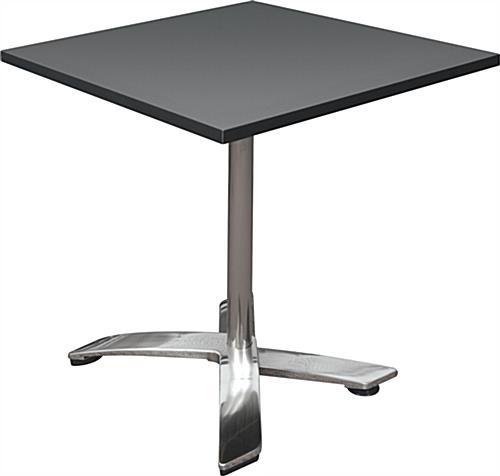 Folding bistro table portable event furniture folding bistro table black watchthetrailerfo