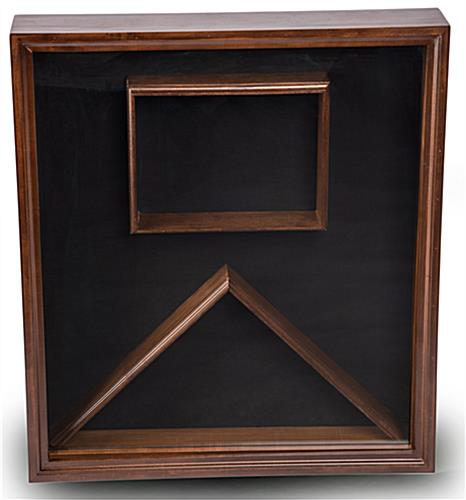 Flag Display Case For Certificate Holder For Photo Or