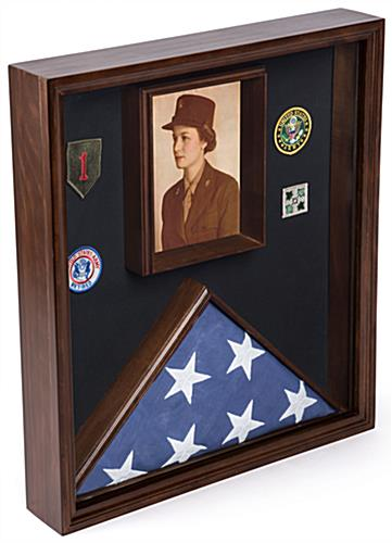Certificate Flag Case with combination display