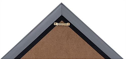 Veteran Flag Display Frame with Wall Mounting Bracket