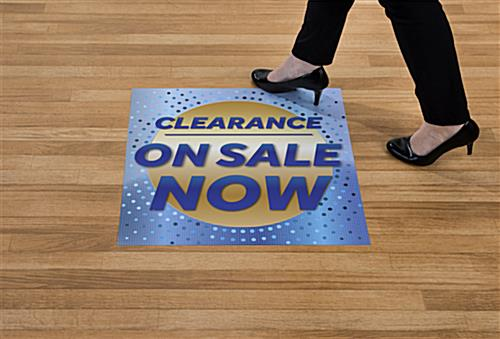 Durable and non-slip CLEARANCE ON SALE NOW walk on floor stickers