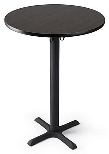 Standing bar table in pub height