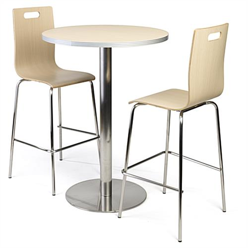 Bar height table and chairs complete set