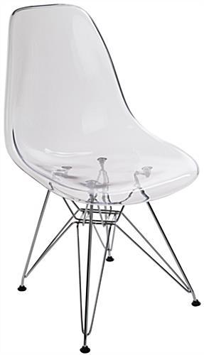 Merveilleux Modern Plastic Eiffel Lounge Chair ...