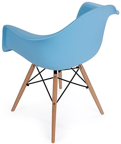 ... Eames Style Plastic Designer Chair With Armrests ...