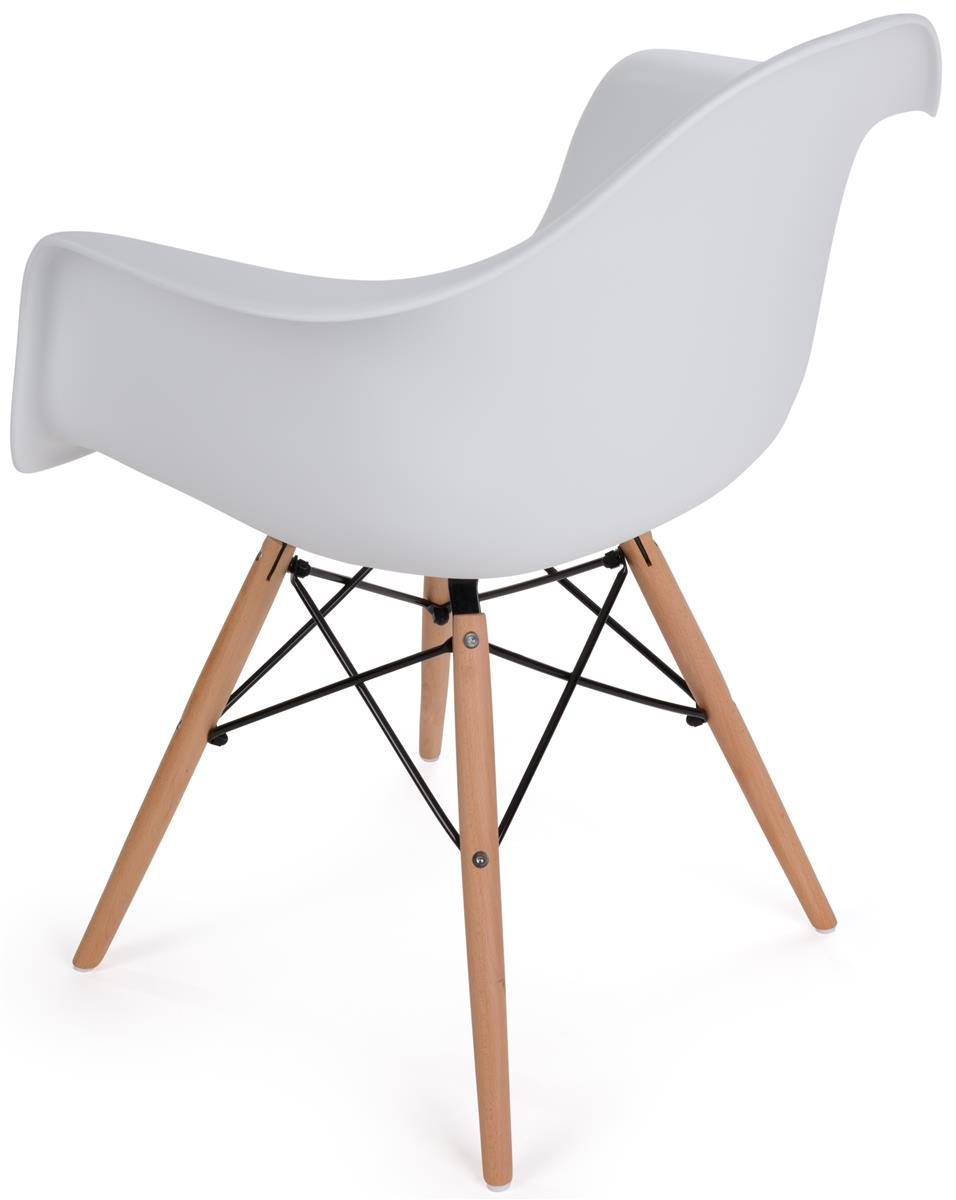 Plastic chair metal legs - High Back Wood Base Plastic Side Chair