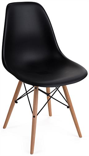 Eames-Style Molded Plastic Modern Chair
