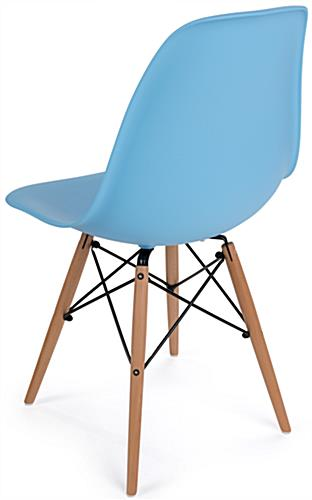 High Back Molded Plastic Eames-Style Chair