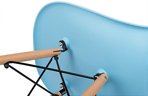 Easy-to-Assemble Molded Plastic Eames-Style Chair