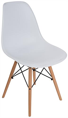 Armless Molded Plastic Side Chair