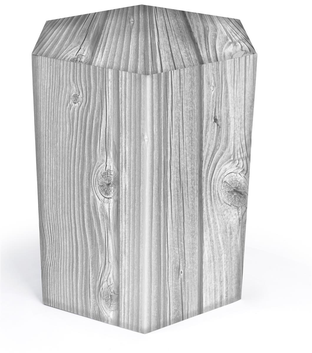 Cardboard Furniture Hex Table 29 H