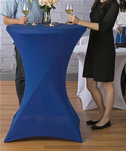 Table with Stretch Cover is Machine Washable