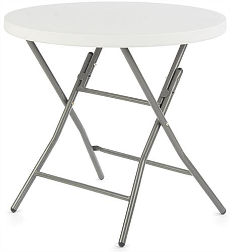 Table with Spandex Cover, Plastic & Polyester