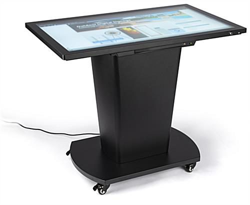 Interactive touch table with 1080p LCD display