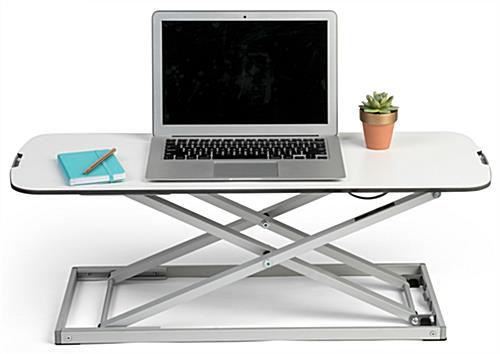 Folding sit stand laptop desk perfect for portable computers