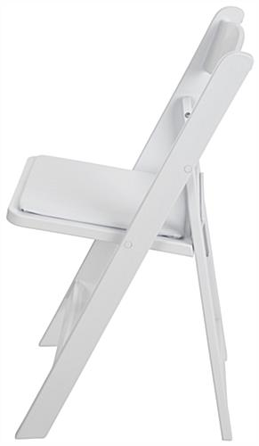 Heavy Duty Folding Plastic Chair with Waterproof Frame