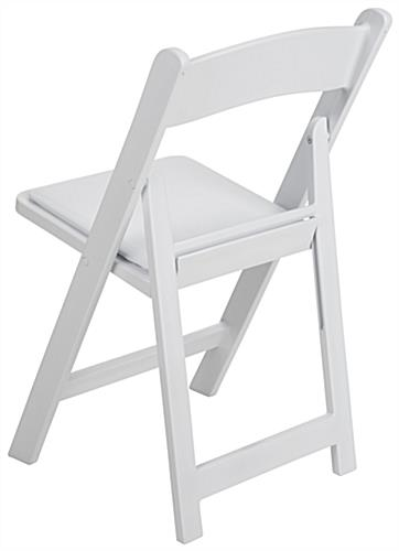 Heavy Duty Folding Plastic Chair with Stackable Feature