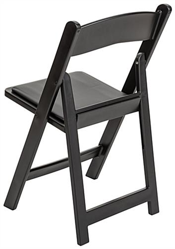 Heavy Duty Folding Resin Chair with Stackable Design