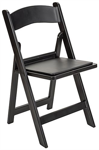 Heavy Duty Folding Resin Chair with High Weight Limit