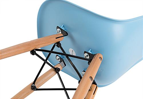 Easy-to-Assemble Child Size Iconic Contemporary Chair