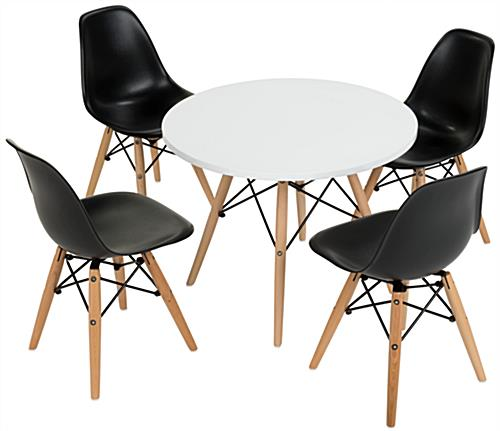 Iconic Child Size Modern Seating Set