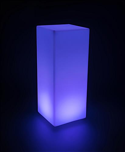 LED Highboy Cocktail Table with 16 Color Options