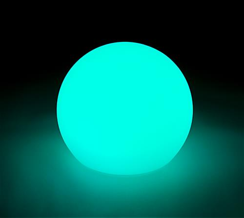 LED ball lamp features this amazing teal color as one of the 16 options