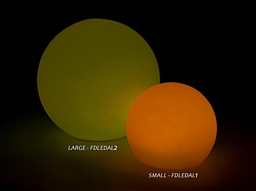 LED ball lamp provides many color options for hours of fun