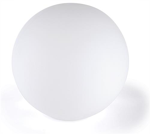 LED ball lamp has with frosted white finish