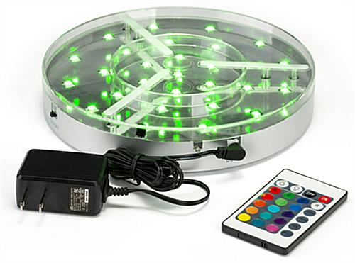 LED under table light includes power source and remote control