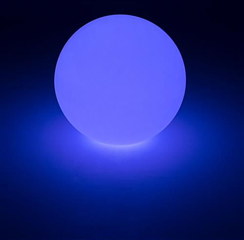 Small LED Ball with Blue Lighting