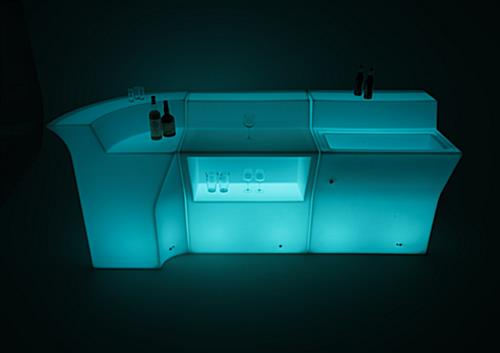 reconfigurable LED bar counter