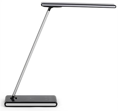 LED desk lamp phone charger with 180 degree head rotation